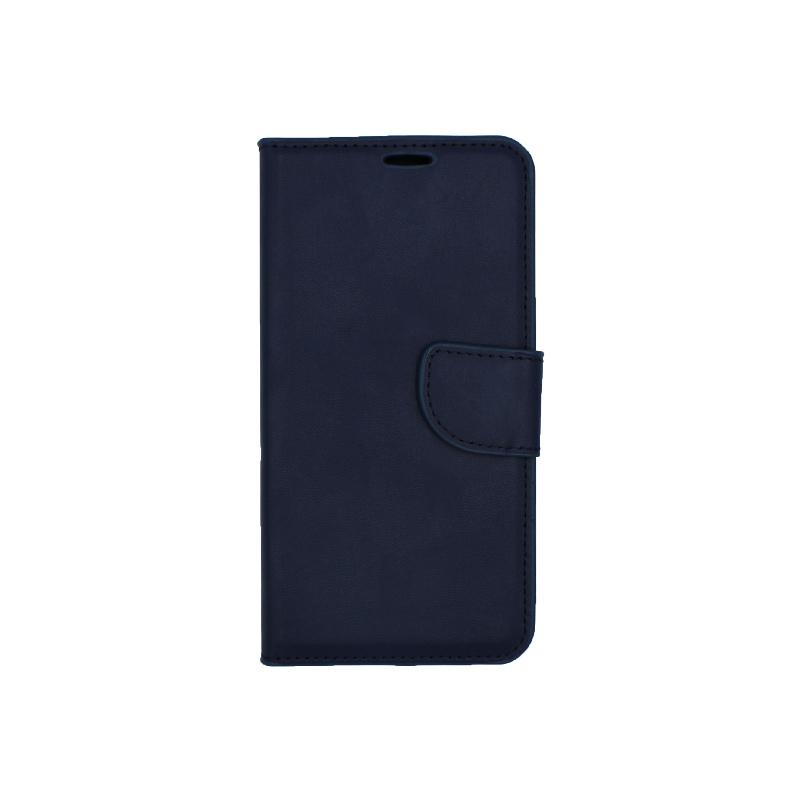 Θήκη Huawei P8 / P9 Lite 2017 πορτοφόλι μπλε 1