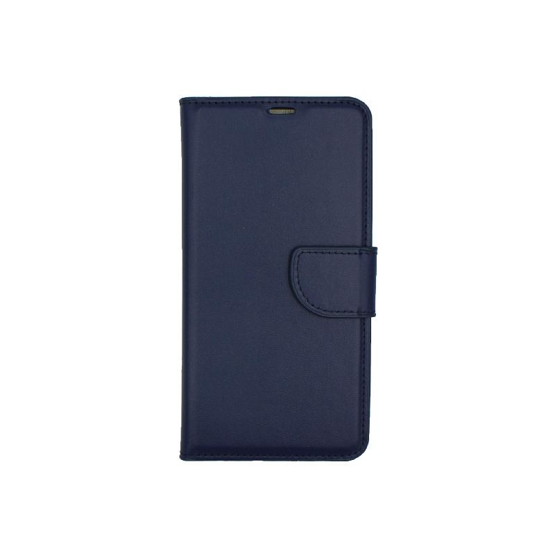 Θήκη Huawei P20 Pro πορτοφόλι μπλε 1
