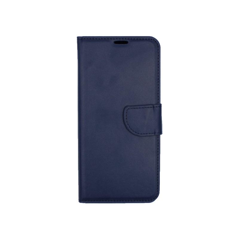 Θήκη Huawei Mate 20 Pro πορτοφόλι σκούρο μπλε 1