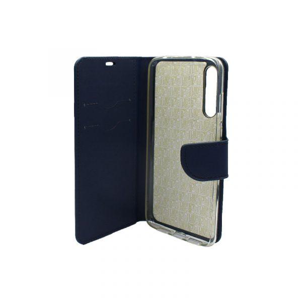 Θήκη Huawei P20 Pro πορτοφόλι μπλε 3