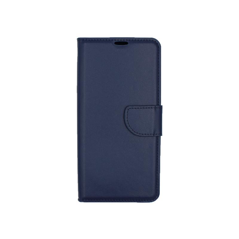 Θήκη Huawei P30 Pro πορτοφόλι σκούρο μπλε 1