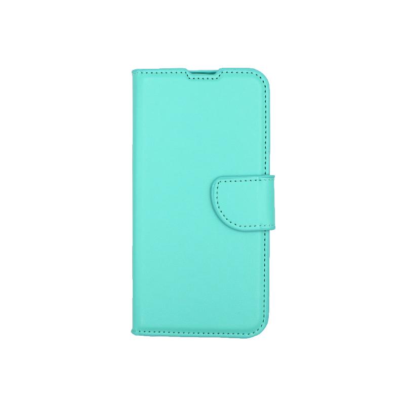 Θήκη Huawei Y5 2019 πορτοφόλι τιρκουάζ 1
