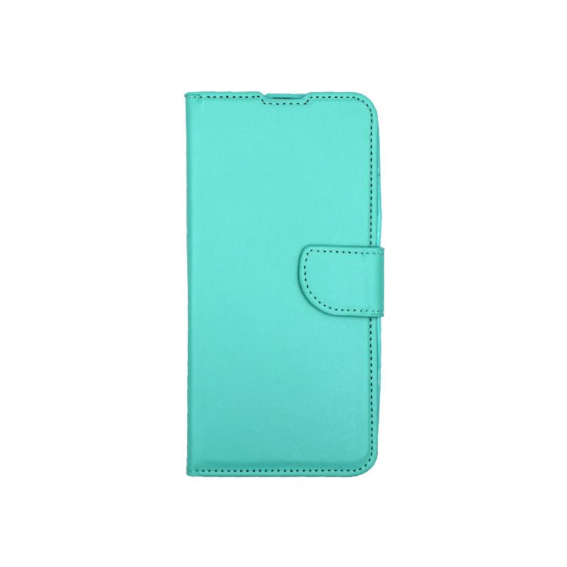 Θήκη Huawei P Smart Z πορτοφόλι τιρκουάζ 1