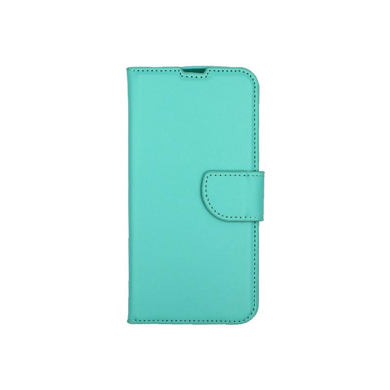 Θήκη Huawei P Smart 2019 πορτοφόλι τιρκουάζ 1