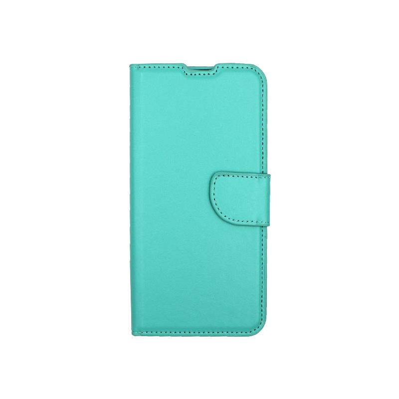 Θήκη Huawei P Smart 2020 πορτοφόλι τιρκουάζ 1