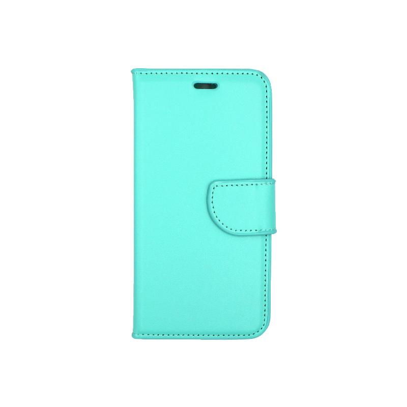 Θήκη Huawei P10 πορτοφόλι τιρκουάζ 1