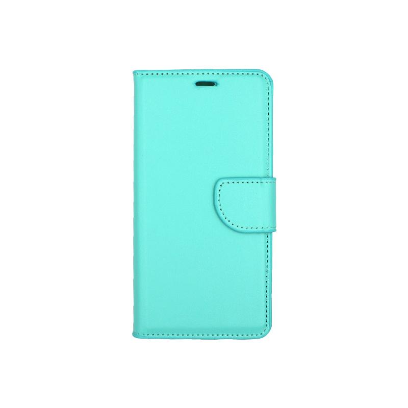 Θήκη Huawei P20 Lite πορτοφόλι τιρκουάζ 1