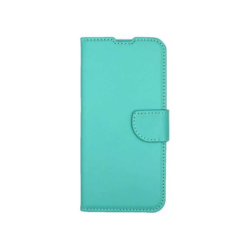 Θήκη Huawei P Smart Pro πορτοφόλι τιρκουάζ 1