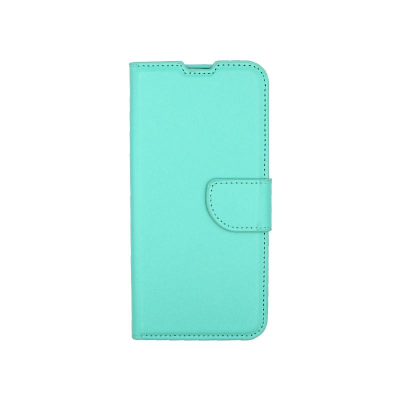 Θήκη Xiaomi Redmi 8 πορτοφόλι τιρκουάζ 1