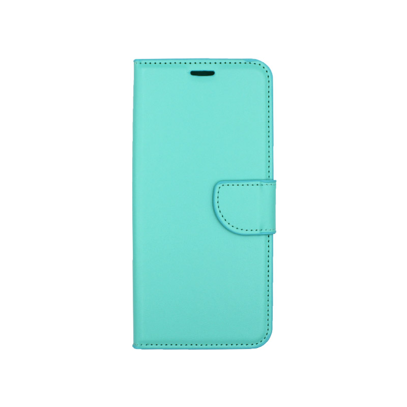 Θήκη Xiaomi Redmi Note 7 / 7 Pro πορτοφόλι τιρκουάζ 1