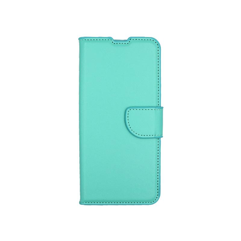 Θήκη Xiaomi Mi Note 10 / Note 10 Pro / CC9 Pro πορτοφόλι τιρκουάζ 1