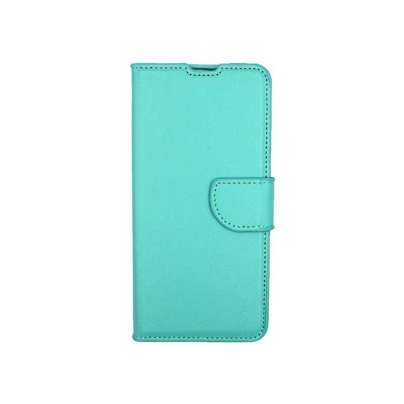 Θήκη Xiaomi Mi 9T / K20 / K20 Pro 9 πορτοφόλι τιρκουάζ 1