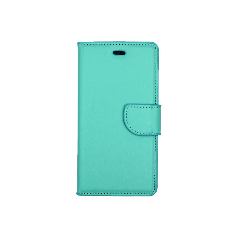 Θήκη Huawei P9 πορτοφόλι τιρκουάζ 1