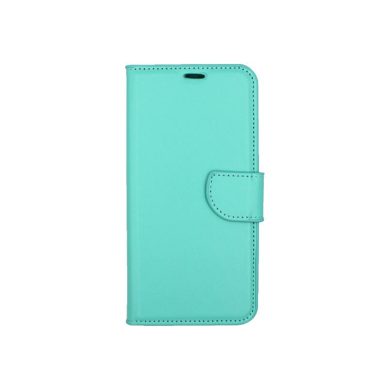 Θήκη Huawei Mate 20 Lite πορτοφόλι τιρκουάζ 1