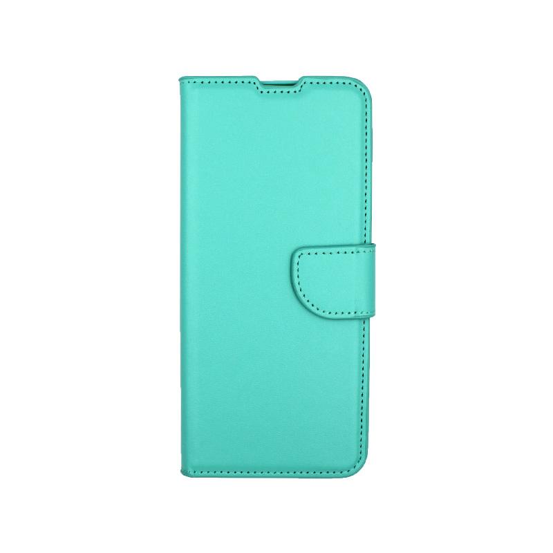 Θήκη Samsung Galaxy S20 Plus πορτοφόλι τιρκουάζ 1