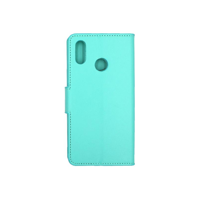 Θήκη Huawei P20 Lite πορτοφόλι τιρκουάζ 2