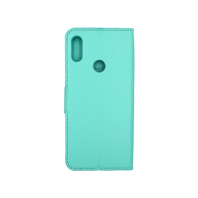 Θήκη Xiaomi Redmi Note 7 / 7 Pro πορτοφόλι τιρκουάζ 2
