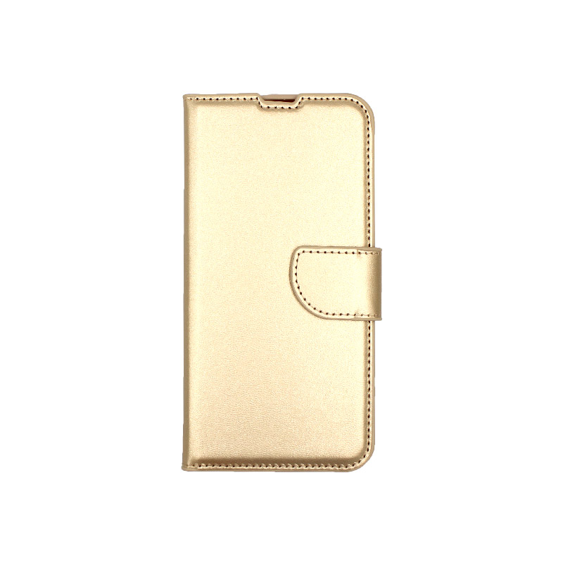 Θήκη Huawei P Smart 2019 πορτοφόλι χρυσό 1