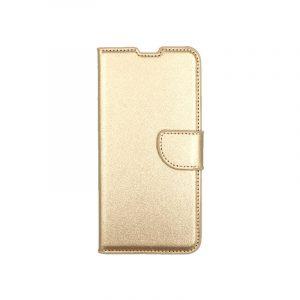 θήκη Xiaomi Mi 9 πορτοφόλι με κράτημα χρυσό 1