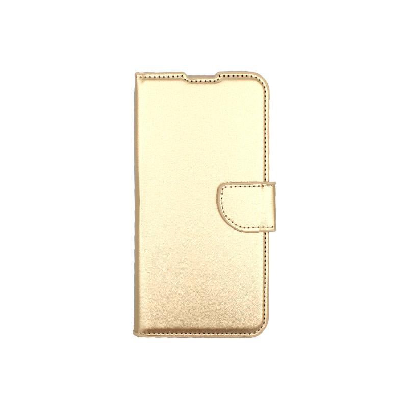 Θήκη Xiaomi Redmi 7 πορτοφόλΘήκη Xiaomi Redmi 7 πορτοφόλι χρυσό 1