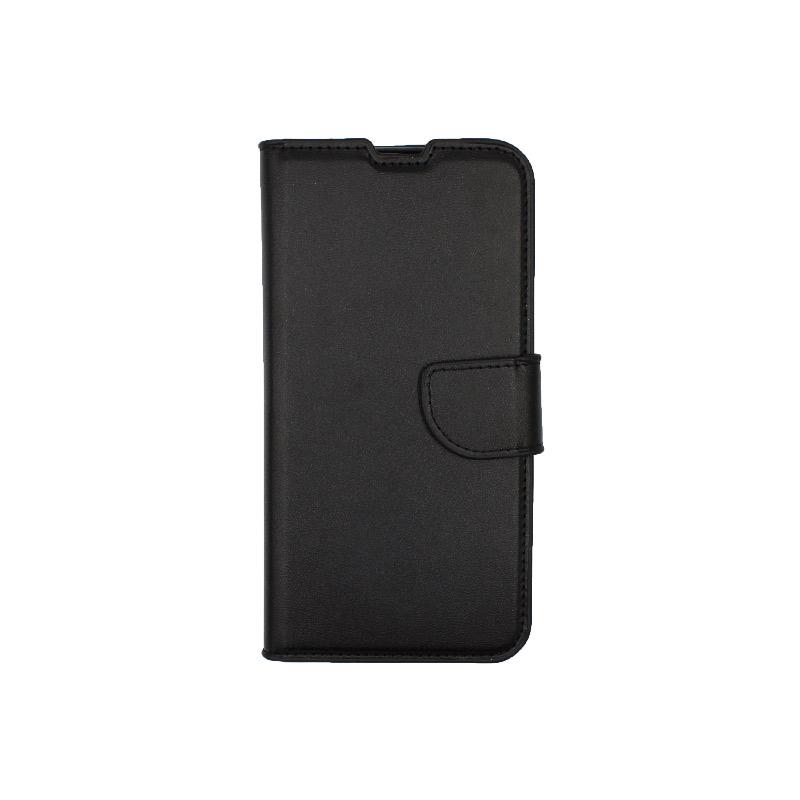 Θήκη Xiaomi Redmi A3 / CC9E πορτοφόλι μαύρο 1