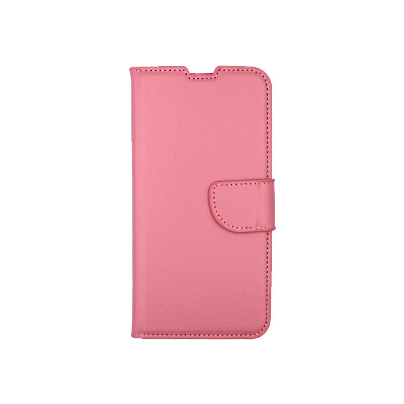 Θήκη Xiaomi Mi 9 Lite / CC9 / A3 Lite πορτοφόλι ροζ 1