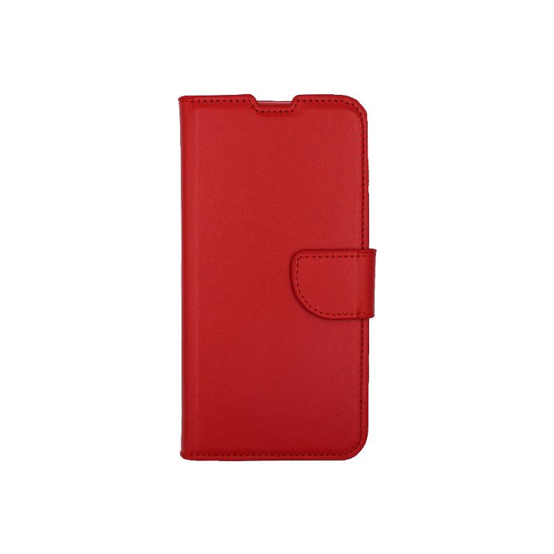 Θήκη Xiaomi Mi 9 Lite / CC9 / A3 Lite πορτοφόλι κόκκινο 1