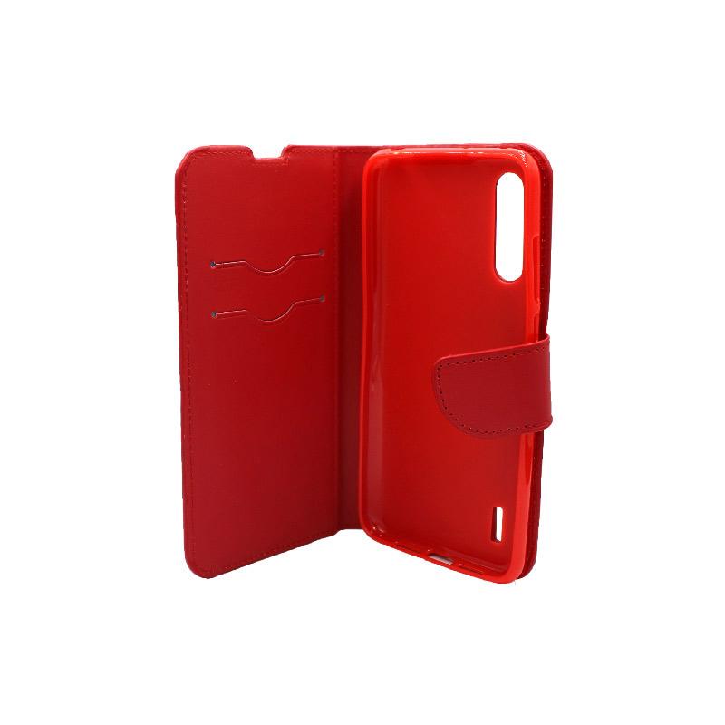Θήκη Xiaomi Redmi A3 / CC9E πορτοφόλι κόκκινο 3
