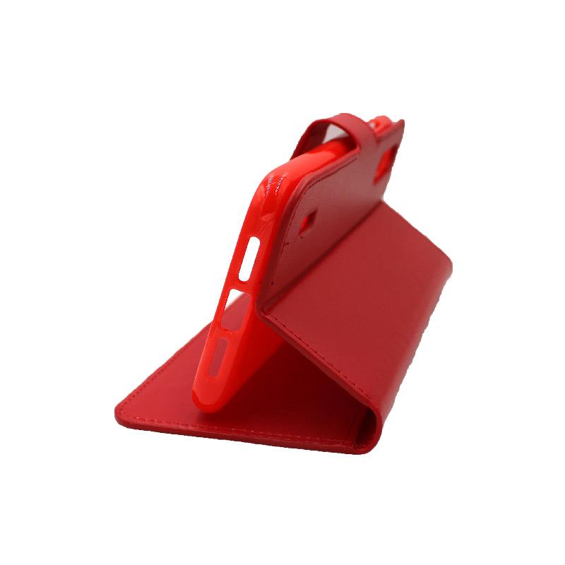 Θήκη Xiaomi Redmi A3 / CC9E πορτοφόλι κόκκινο 4