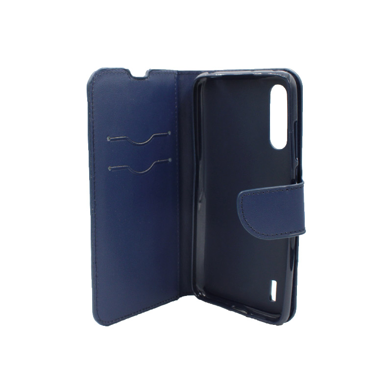 Θήκη Xiaomi Mi 9 Lite / CC9 / A3 Lite πορτοφόλι σκούρο μπλε 3