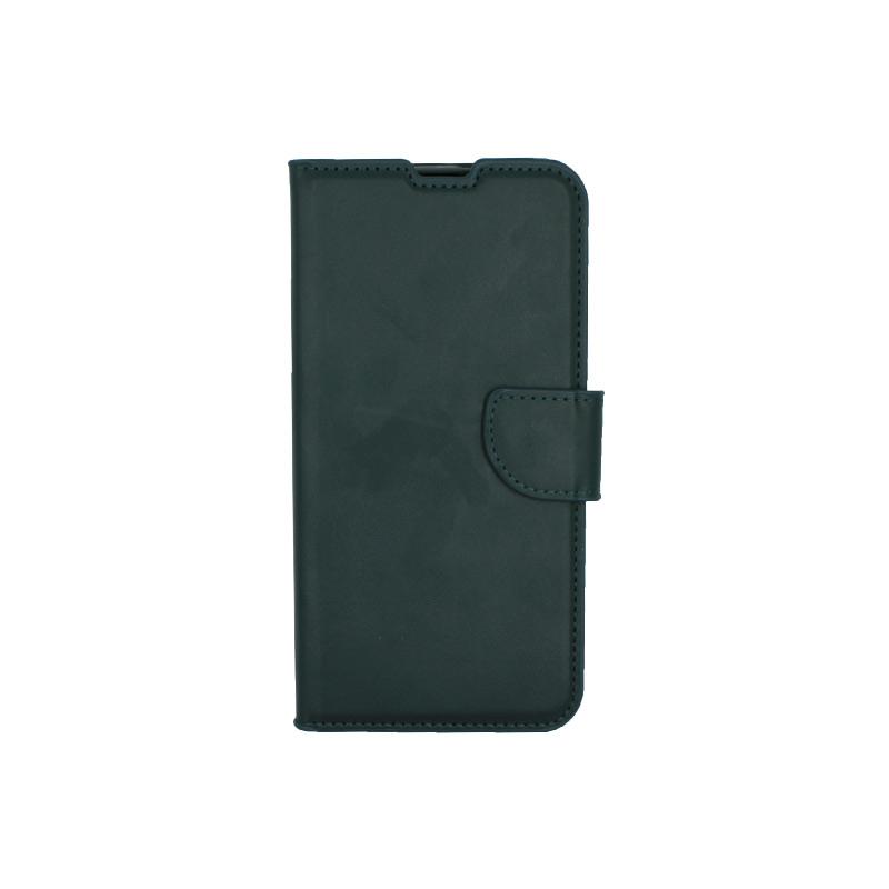 Θήκη Xiaomi Redmi A3 / CC9E πορτοφόλι πράσινο 1