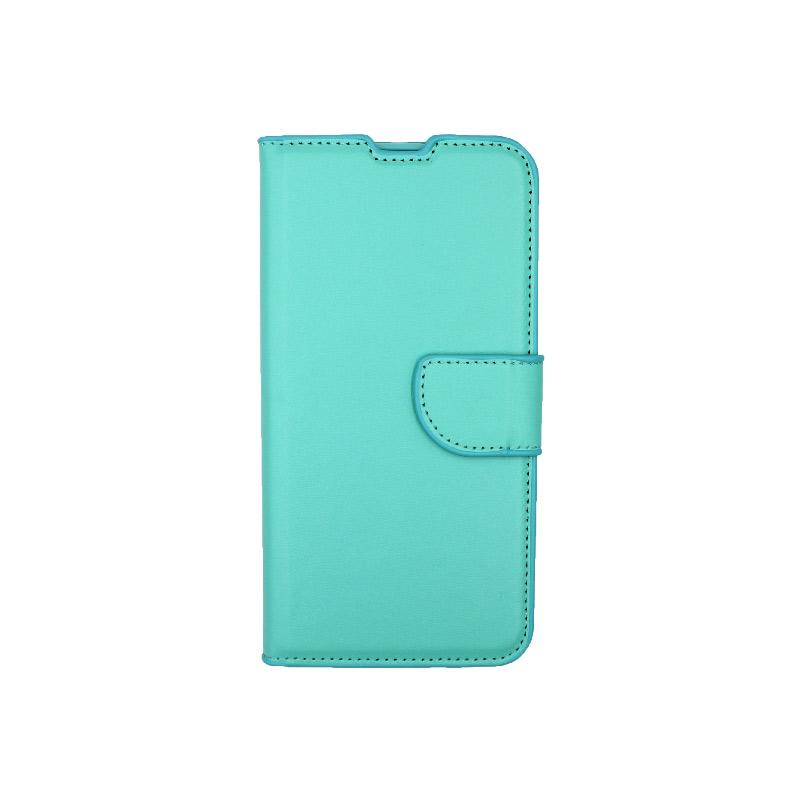 Θήκη Xiaomi Redmi A3 / CC9E πορτοφόλι τιρκουάζ 1