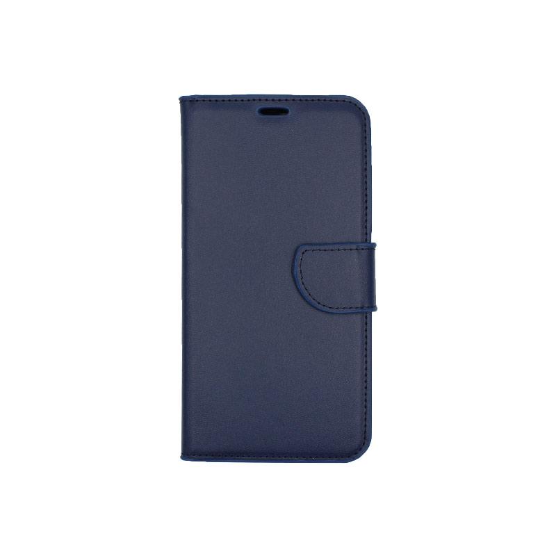Θήκη Huawei Y7 2018 πορτοφόλι μπλε 1