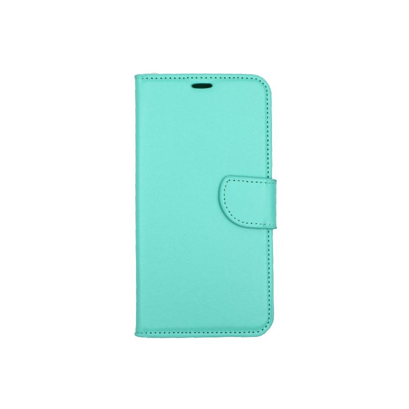 Θήκη Huawei Y7 2018 πορτοφόλι τιρκουάζ 1