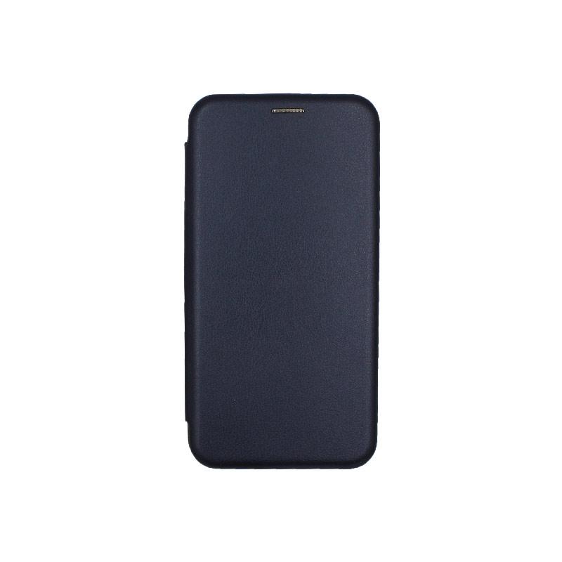 Θήκη Huawei Mate 20 Lite Πορτοφόλι με Μαγνητικό Κλείσιμο μπλε 1