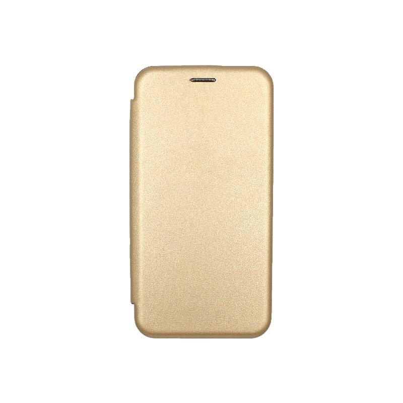Θήκη Huawei Mate 20 Lite Πορτοφόλι με Μαγνητικό Κλείσιμο χρυσό 1