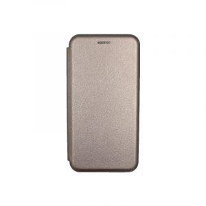 Θήκη Xiaomi Redmi 6 Πορτοφόλι με Μαγνητικό Κλείσιμο γκρι 1