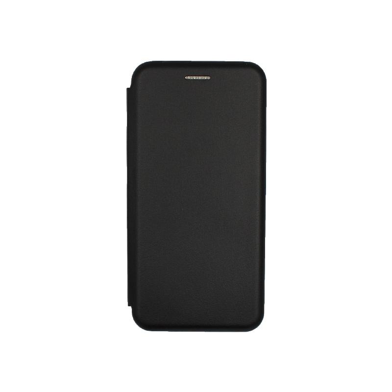 Θήκη Xiaomi Redmi 6 Πορτοφόλι με Μαγνητικό Κλείσιμο μαύρο 1