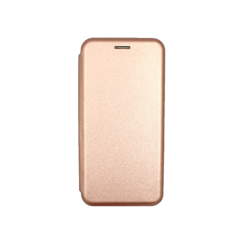 Θήκη Xiaomi Redmi 6 Πορτοφόλι με Μαγνητικό Κλείσιμο ροζ χρυσό 1