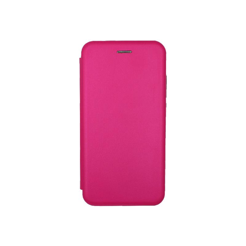 Θήκη Xiaomi Mi 9 Lite / CC9 / A3 Lite Πορτοφόλι με Μαγνητικό Κλείσιμο φουξ 1