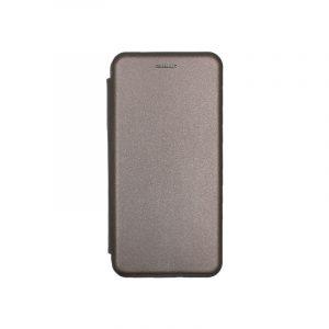 Θήκη Huawei P Smart Πορτοφόλι με Μαγνητικό Κλείσιμο γκρι 1
