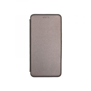 Θήκη Huawei P8 Lite Πορτοφόλι με Μαγνητικό Κλείσιμο γκρι 1