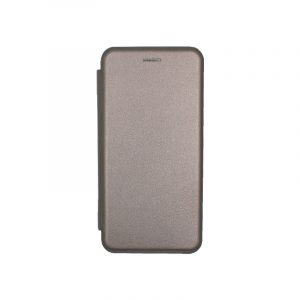 Θήκη Huawei P20 Πορτοφόλι με Μαγνητικό Κλείσιμο γκρι 1