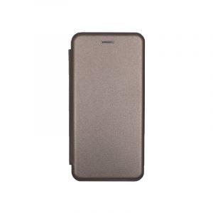 Θήκη Huawei P20 Lite Πορτοφόλι με Μαγνητικό Κλείσιμο γκρι 1