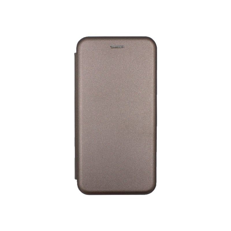 Θήκη Xiaomi Mi 9 Lite / CC9 / A3 Lite Πορτοφόλι με Μαγνητικό Κλείσιμο γκρι 1