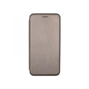 Θήκη Xiaomi A2 Lite Redmi 6X / A2 / Redmi 6 Pro Πορτοφόλι με Μαγνητικό Κλείσιμο γκρι 1
