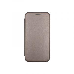 Θήκη Huawei Mate 20 Πορτοφόλι με Μαγνητικό Κλείσιμο γκρι 1