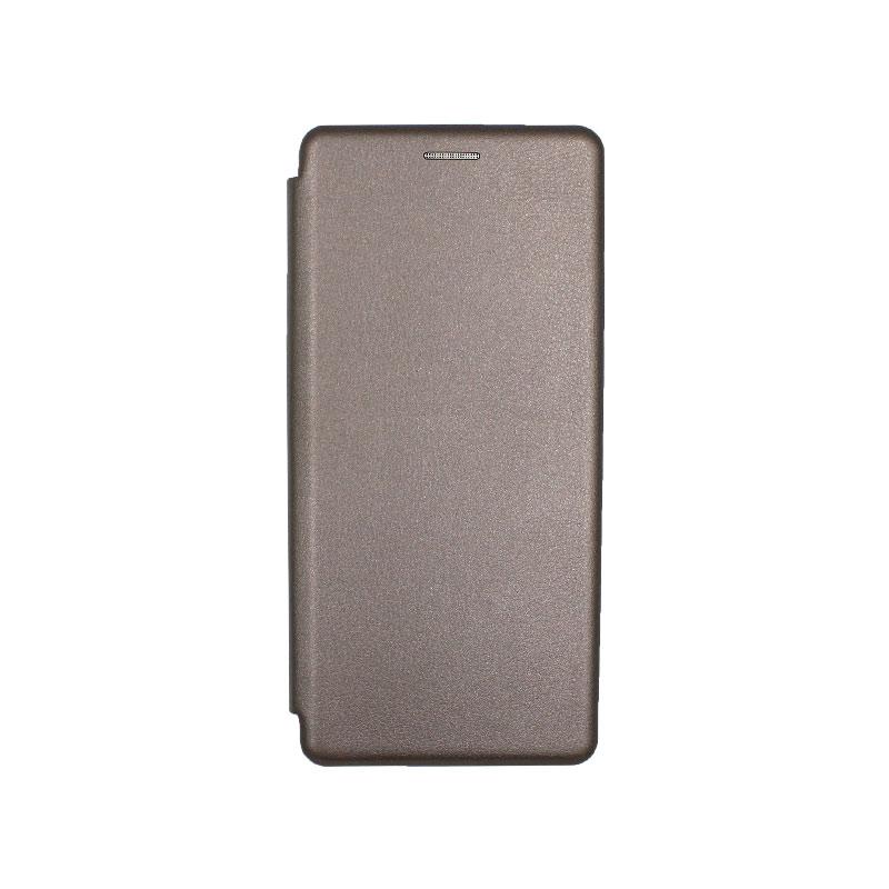 Θήκη Samsung Galaxy S20 Plus Πορτοφόλι με Μαγνητικό Κλείσιμο γκρι 1