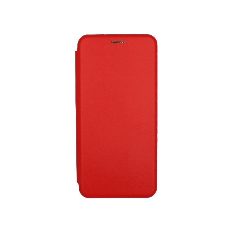 Θήκη Xiaomi Mi 10 / Mi 10 Pro Πορτοφόλι με Μαγνητικό Κλείσιμο κόκκινο 1