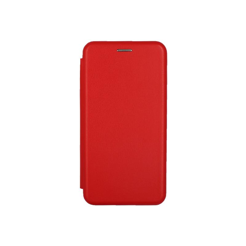Θήκη Xiaomi Redmi A3 / CC9E Πορτοφόλι με Μαγνητικό Κλείσιμο κόκκινο 1